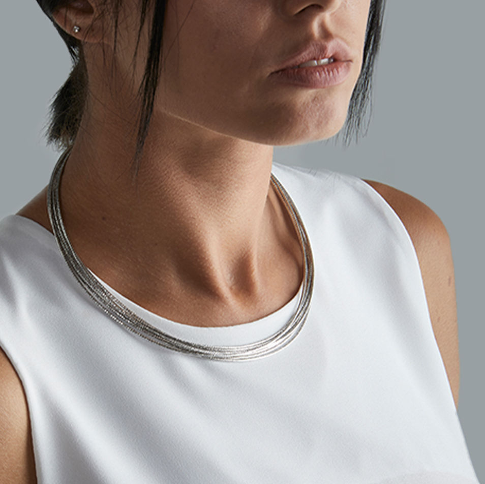 DESMOS ITALIAN JEWELRY CHAIN FOR WOMEN MADE IN ITALY